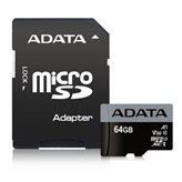 Memorijska kartica ADATA, micro SD, 16 GB, AUSDH16GUI3V30S-RA1, UHS-I U3 V30S + adapter