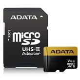 Memorijska kartica ADATA, micro SD, 64 GB, AUSDX64GUII3CL10-CA1, UHS-II U3, Class 10 + adapter