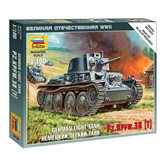 Maketa ZVEZDA, German light tank Pz.Kpfw. 38(T), 1:100