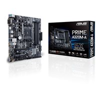 Matična ploča ASUS Prime A320M-A, AMD A320, DDR4, zvuk, G-LAN, SATA, PCI-E 3.0, USB Type 3.1, D-Sub, DVI, HDMI, M.2, mATX, s. AM4