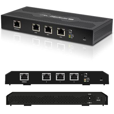 Router UBIQUITI EdgeMax EdgeRouter Lit, 500MHz CPU, 512MB RAM, 3×GLAN