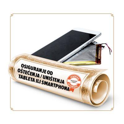 Osiguranje od oštećenja/ uništenja smartphone-a/ tableta u trajanju od 24 mjeseci - vrijednosti uređaja 1001-2000 kn