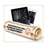 Osiguranje od loma ekrana smartphone-a/ tableta u trajanju od 24 mjeseci - vrijednosti uređaja 5001-6000 kn