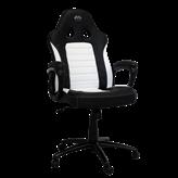 Gaming stolica LC POWER LC-GC-4W, crno-bijela