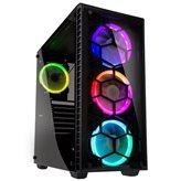 Kućište KOLINK Observatory RGB, MIDI, ATX, Window, crno, USB 3.0