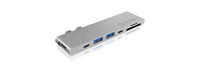 Docking station ICY BOX IB-DK4037-2C, 2x USB 3.0, 1x USB-C, 1x Thunderbolt 3, HDMI, za notebook