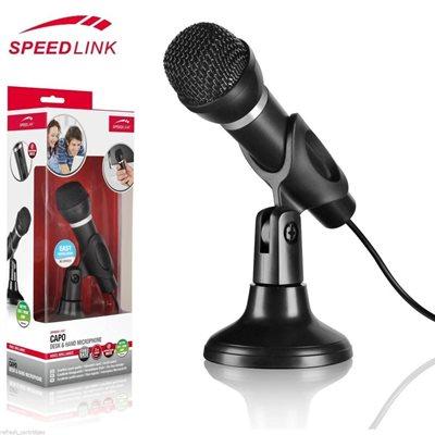 Mikrofon SPEED-LINK Capo, stolni, crni