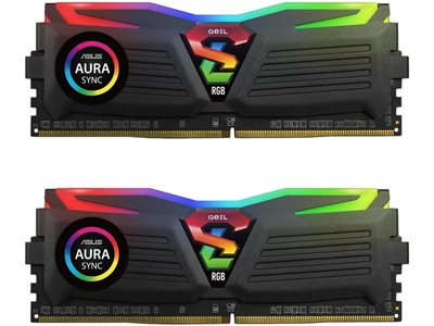 Memorija PC-24000, 8 GB, GEIL Super Luce GLS48GB3000C16ADC, DDR4 3000MHz, kit 2x4GB