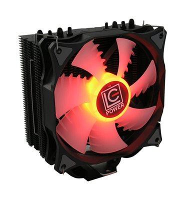 Cooler LC POWER LC-CC-120-RGB Cosmo Cool, socket 775/1150/1151/1155/1156/1366/2011/2011-3/2066/FM1/FM2/AM2/AM2+/AM3/AM3+/AM4