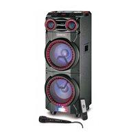 Karaoke MANTA CERES, SPK6011, disco LED RGB, XBass, FM, USB, SD, BT, mikrofon, daljinski upravljač