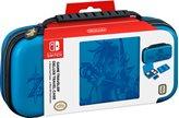 Torbica i zaštita ekrana BIGBEN Deluxe Zelda, za Nintendo Switch, sa 2x kutije za igrice, plava