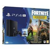Igraća konzola SONY PlayStation 4 PRO, 1000GB, B Chassis, Fortnite VCH, crna