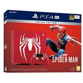 Igraća konzola SONY PlayStation 4 Limited Edition Pro, 1000GB, B Chassis, Marvel's Spiderman, crvena - PREORDER
