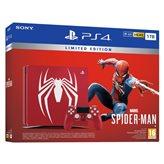 Igraća konzola SONY PlayStation 4 Limited Edition, 1000GB, F Chassis, Marvel's Spiderman, crvena - PREODER