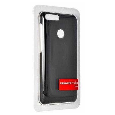 Cover HUAWEI, Silicon, za Huawei P Smart, crni