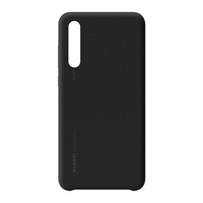 Cover HUAWEI, Silicon, za Huawei P20, crni