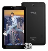 "Tablet računalo VIVAX TPC-704 3G, 7"" multitouch IPS/PLS, QuadCore MTK832 1.30GHz, 1GB, 8GB Flash, MicroSD, Dual SIM, 3G, GPS, BT, kamera, Android 7.0, crna"