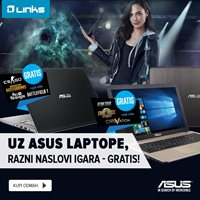 Picture of Besplatne igre uz svaki ASUS notebook s Intel procesorom!