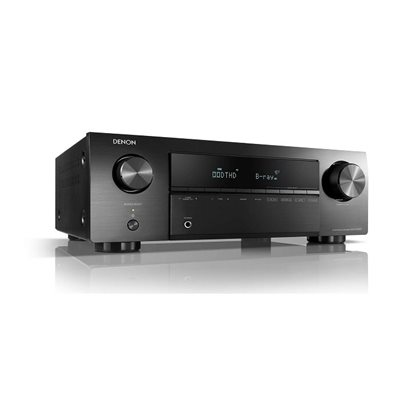 AV receiver DENON AVRX 250BT, black