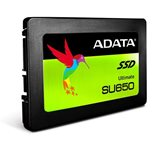 "SSD 480.0 GB ADATA SU650 3D Nand, ASU650SS-480GT-C, SATA3, 2.5"", maks do 520/450 MB/s"