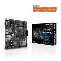 Matična ploča ASUS PRIME B450M-K, AMD B450, mATX, s. AM4