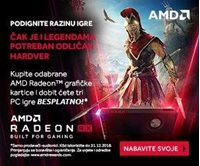 Picture of Kupite AMD Radeon RX grafičke kartice  i dobivate 3 PC igre besplatno!