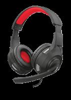Slušalice TRUST GXT 307 Ravu Gaming, Headset, crne