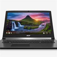 "Prijenosno računalo ACER Aspire 7 NH.GXCEX.025 / Core i7 8750H, 8GB, SSD 512, GeForce GTX 1050, 15.6"" IPS FHD, Linux, crno"