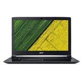 Prijenosno računalo ACER Aspire 7 NH.GXDEX.011 / Core i5 8300H, 8GB, 1000GB, HD Graphics 630, 17.3'' LED FHD, Linux, crno