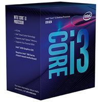 Procesor INTEL Core i3 8100, s. 1151, 3.6GHz, 6MB cache, GPU, Quad Core
