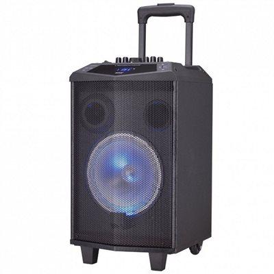 Karaoke DENVER TSP-304, 30W RMS, LED, mikrofon, baterija, BT