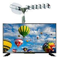 "LED TV 49"" ELIT L-4917UHDTS2, DVBT2/S2 H.265, 4K UHD, Android, energetska klasa A, 5g. jamstvo + GRATIS ELIT E-360R vanjska roto antena"
