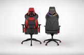 Gaming stolica GAMDIAS ACHILLES P1 L BR, crno-crveni