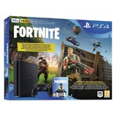 Igraća konzola SONY PlayStation 4, 500GB, E Chassis, Fortnite, crna + Ratchet and Clank + Dualshock Controller v2, crna