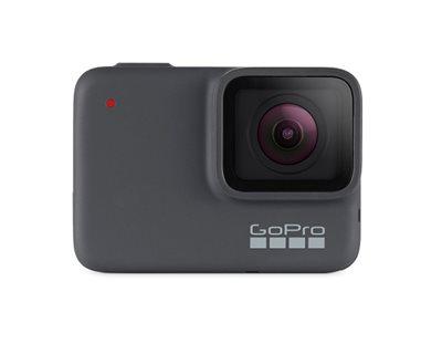 Sportska digitalna kamera GOPRO HERO7 Silver, 4K30, 10 Mpixela + WDR, Touchscreen, Voice Control, 2 Axis, GPS - preorder