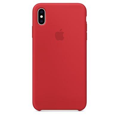 Cover APPLE Silicone Case, za IPHONE XS Max, crveni