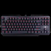Tipkovnica REDRAGON Usas K553, Red LED, mehanička, USB, US layout, crna