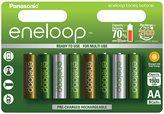 Baterija PANASONIC Eneloop Botanic Limited Edition BK3MCCE8TE, tip AA, punjive, 1900 mAh, 8kom