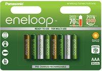 Baterija PANASONIC Eneloop Botanic Limited Edition BK4MCCE8TE, tip AAA, punjive, 750 mAh, 8kom