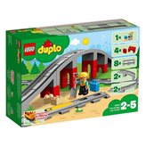 LEGO 10872, Duplo, Train Bridge and Tracks, željeznički most i tračnice