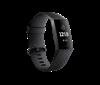 Narukvica FITBIT Charge 3, mjerenje aktivnosti, senzor otkucaja, vodootporna, crna