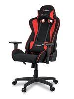 Gaming stolica AROZZI Mezzo V2, tkanina, crno-crvena