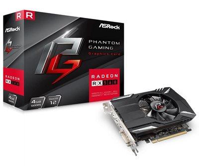 Grafička kartica PCI-E ASROCK Radeon RX 560 4G Phantom Gaming, 4GB GDDR5