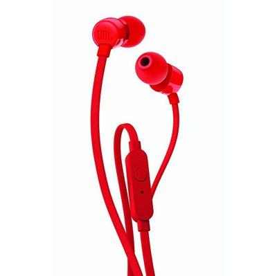 Slušalice JBL T110, crvene