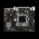 Matična ploča USED MSI H110M PRO-VDP, Intel H110, DDR4, mATX, s. 1151 – za 6/7Gen procesora