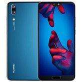 "Smartphone HUAWEI P20, 5.8"", 4GB, 64GB, Android 8.1, plavi"