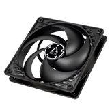Ventilator ARCTIC COOLING P12 PWM PST, 120mm, 1800 okr/min, black/black