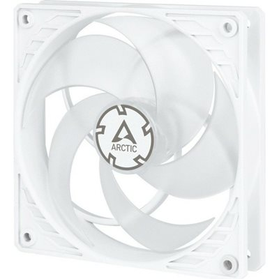 Ventilator ARCTIC COOLING P12 PWM PST, 120mm, 1800 okr/min, white/transparent