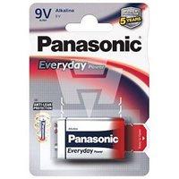 Baterija PANASONIC, 6LF22EPS/1BP, 1 baterija, 9V