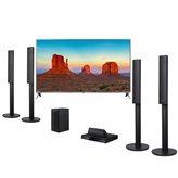 LED TV 43'' LG 43UK6500MLA, DVB-C/T2/S2, UHD, Smart TV, energetska klasa A+, + Kućno kino LG LHD457, Bluetooth (Rx), 5.1 System, HDMI, USB, 330W